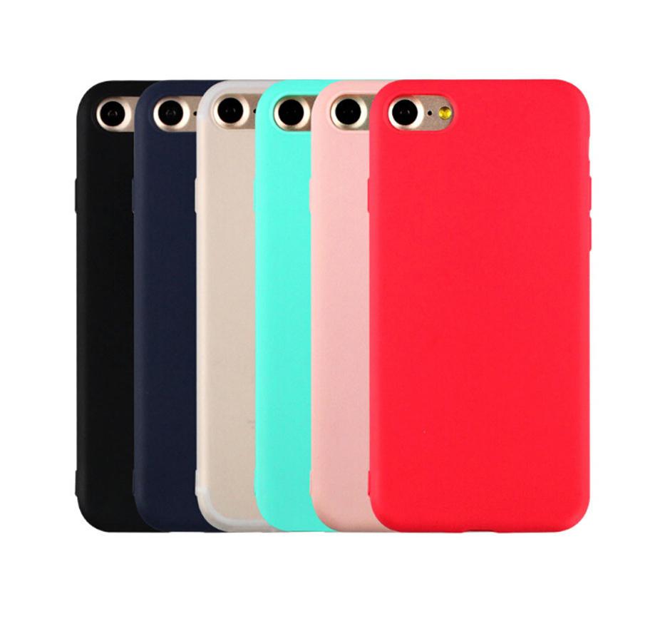 Mäkký farebný silikónový kryt na iPhone 7 - rôzne farby  f61e9839da9